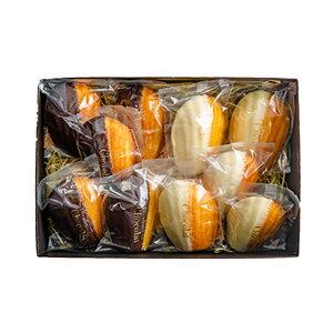 マドレーヌ オ ショコラ&ブラン2種詰め合わせ(10個入り)発酵バター お取り寄せグルメ お菓子 ギフト 内祝い 出産祝い 誕生日 お中元 お歳暮 母の日 父の日 スイーツ プレゼント 贈り物 東京