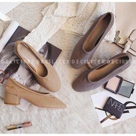 パンプス スエード ローヒール レディース ラウンドトゥ バレエシューズ 太ヒール ローファー 靴 婦人靴 黒 ブラック ベージュ グレー 歩きやすい 痛くないセール品につき、返品・交換は一切受け付けておりません