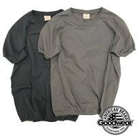 Goodwearグッドウェアクルーネックリブ付きTシャツNGT9801