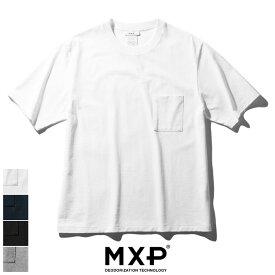 【楽天スーパーSALE】【20%OFF】MXP エムエックスピー ミディアムドライジャージ ビッグティーウィズポケット(メンズ) BIG TEE WITH POCKET MX38302