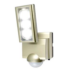【代引き・同梱不可】ELPA(エルパ) 屋外用LEDセンサーライト AC100V電源(コンセント式) ESL-ST1201AC