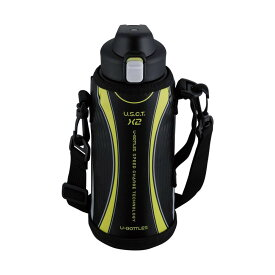 【代引き・同梱不可】ユーボトルズ スピードX2 1.0L パワーブラック RH-1419かわいい ステンレス 水筒