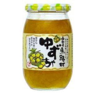 【代引き・同梱不可】日本ゆずレモン 高知県馬路村ゆずちゃ(UMJ) 420g×12本檸檬 はちみつ入り 柚子茶