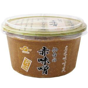 【代引き・同梱不可】仙台の赤味噌 300g 6個セット