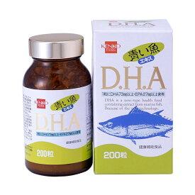 【代引き・同梱不可】健康フーズ 青い魚エキス DHA 7254