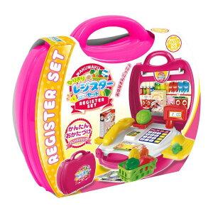 【代引き・同梱不可】子供用玩具 なりきりごっこあそびセット なりきりレジスターセット