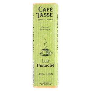 【代引き・同梱不可】CAFE-TASSE(カフェタッセ) ピスタチオミルクチョコ 45g×15個セット