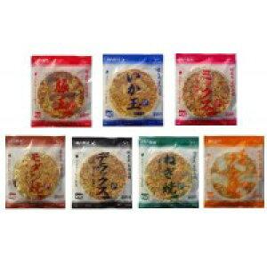 【代引き・同梱不可】本場関西風 業務用 冷凍お好み焼き 食べくらべ 7種セット買い置き 関西風お好み焼き レンジ