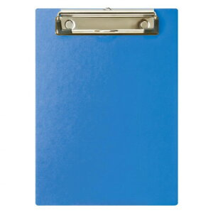 【代引き・同梱不可】ナカバヤシ ハンディ・クリップボードA5・ブルー QB-A501-B