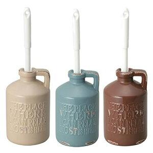 【代引き・同梱不可】セトクラフト Vintage Style TOILET ROOM トイレブラシ(vintage) ダークブラウン・SP-1911-DB-220お掃除 かわいい 陶器