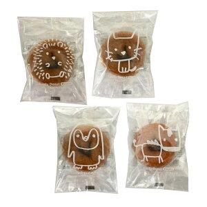 【代引き・同梱不可】どうぶつ とうふドーナツ バニラ 1P(30袋)スイーツ お菓子 おやつ