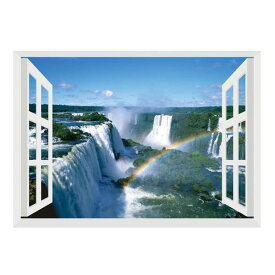【代引き・同梱不可】お風呂のポスター 世界遺産バージョン イグアスの滝 SPP-10114インテリアポスター おしゃれ おふろポスター