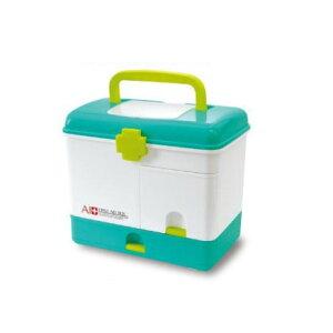【代引き・同梱不可】収納上手な救急箱 AS-2001大容量 ボックス 使いやすい