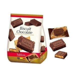 【代引き・同梱不可】エイム ビスケットチョコレート ミルク 6P 16袋 100001897