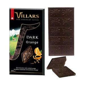 【代引き・同梱不可】ビラーズ スイス ダークチョコレート オレンジピール 16個 100001392