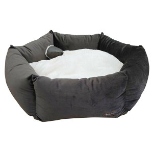 【代引き・同梱不可】TopZoo ペット用ベッド バスケット フラワー M