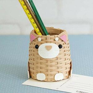 【代引き・同梱不可】ハマナカ 手芸キット 柴犬のペンたて H360-249