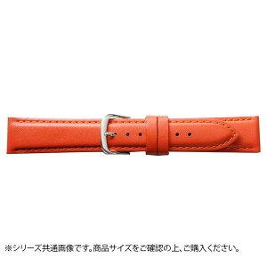 【代引き・同梱不可】BAMBI バンビ 時計バンド 牛革 オレンジ(美錠:白) BCA050ON