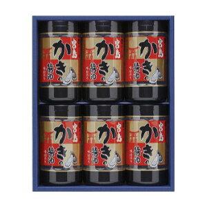 【代引き・同梱不可】やま磯 海苔ギフト 宮島かき醤油のり詰合せ 宮島かき醤油のり8切32枚×6本セット