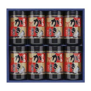 【代引き・同梱不可】やま磯 海苔ギフト 宮島かき醤油のり詰合せ 宮島かき醤油のり8切32枚×8本セット