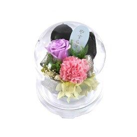 【代引き・同梱不可】プリザーブドフラワー(お供えアレンジメント) 花ごころS C20120S