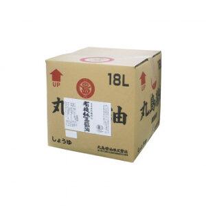 【代引き・同梱不可】丸島醤油 業務用 有機純正醤油(濃口) 18L 1257