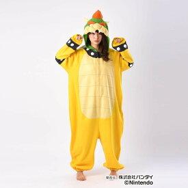 【代引き・同梱不可】サザック フリース着ぐるみ スーパーマリオ クッパ フリーサイズ BAN-068ハロウィン コスプレ 大人用