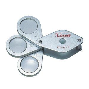 【代引き・同梱不可】Vixen ビクセン メタルホルダー ルーペ MT19コンパクト 拡大鏡 日本製