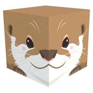【代引き・同梱不可】Cube Box 小(ソーダキャンディ5個入) カワウソ 10個セット CB546