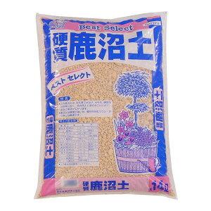 【代引き・同梱不可】あかぎ園芸 硬質鹿沼土 14L 4袋
