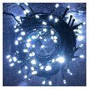 【代引き・同梱不可】LEDイルミネーション デコライトプロS150球チェーンライト ホワイト DDPL150GWH