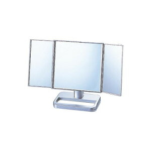 【代引き・同梱不可】卓上三面鏡 S-888-70- 198329-190