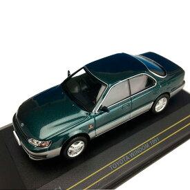 【代引き・同梱不可】First43/ファースト43 トヨタ ウィンダム 1991 ダーク・グリーン/グレイ 1/43スケール F43051