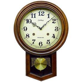【代引き・同梱不可】アンティーク電波振り子時計(丸型) DQL623アンティーク おしゃれ 壁掛け時計