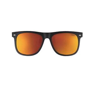 【代引き・同梱不可】冒険王(Boken-Oh) サングラス アルゴスグレイ(クリップオン&眼鏡対応型) AG-1D マットブラック