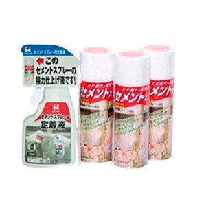 【代引き・同梱不可】日本ミラコン産業 セメントスプレー230ml 3本組セット簡単 ひび割れ ブロック