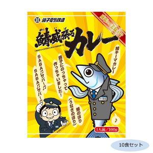 【代引き・同梱不可】ご当地カレー 千葉 銚子電鉄鯖威張るカレー(鯖キーマカレー) 10食セット