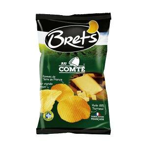 【代引き・同梱不可】Brets(ブレッツ) ポテトチップス コンテチーズ 125g×10袋おやつ チーズ味 スナック菓子