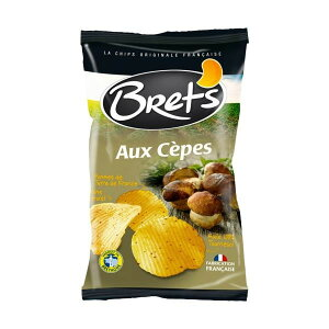 【代引き・同梱不可】Brets(ブレッツ) ポテトチップス ポルチーニ 125g×10袋お菓子 スナック きのこ