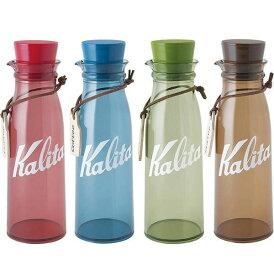 【代引き・同梱不可】Kalita(カリタ) コーヒーストレージボトル 300ml レッド・44237