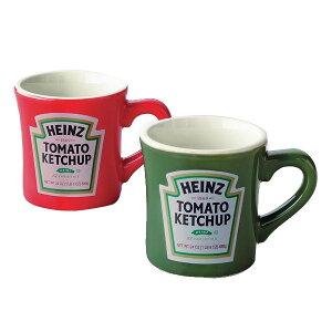 【代引き・同梱不可】Heinz ハインツ ペアマグ(木箱入) 29620ケチャップ パロディ 雑貨