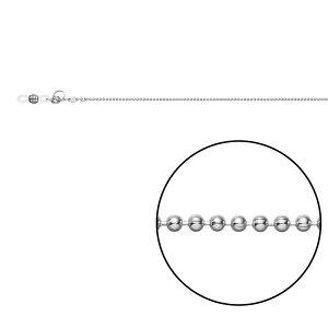 【代引き・同梱不可】メガネチェーン CW-321 ボール φ1.5mm Z5421