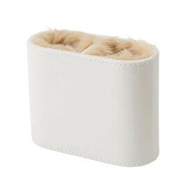 【代引き・同梱不可】茶谷産業 Desktop Collection メガネスタンド 2本用 ホワイト 240-666眼鏡入れ ホルダー 卓上
