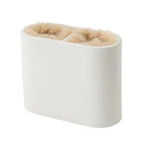 【代引き・同梱不可】茶谷産業 Desktop Collection メガネスタンド 2本用 ホワイト 240-666メガネ置き 卓上 収納