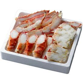 【代引き・同梱不可】ボイルたらばがに笹切 TSBC080海鮮 材料 グルメ