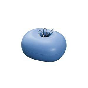 (まとめ)プラス クリップケース CP-500 ブルー【×10セット】【日時指定不可】