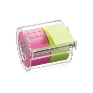 (まとめ)ヤマト メモックロールテープ 蛍光 NORK-25CH6A【×10セット】【日時指定不可】