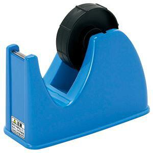 (まとめ) コクヨ R2テープカッター 大巻・小巻両用 W85×D167×H105mm 青 R2T-M32B 1台 【×15セット】【日時指定不可】