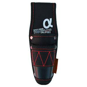 (まとめ)電工ポケット WAIST GEAR 【ペンチ差し×5セット】 レッド(赤) マーベル MDP-85AR【日時指定不可】