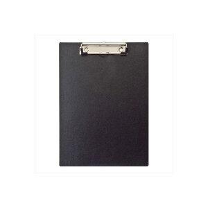 (業務用セット) ハンディー・クリップボード A4 E型 ブラック/QB-A401-D【×10セット】【日時指定不可】